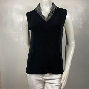 3FOR$20 Chico's Black Top Size: 2